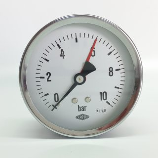 Pressure gauge Ø80mm back connection