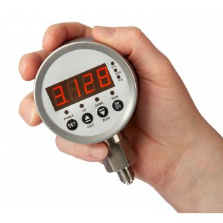 Digital pressure gauge with electrical contact Digi-K80