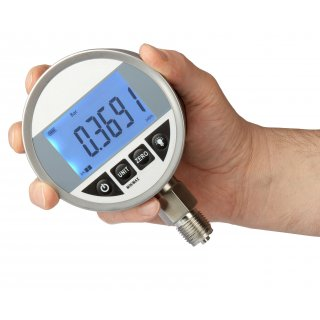 Digital precision pressure gauge cl.0,2 G1/2 -1-0-2,5 bar