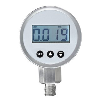 Digital pressure gauge with signal output 4-20mA